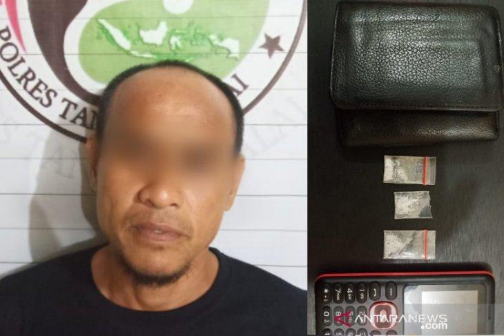 Mengaku dapat narkoba dari seorang wanita, nelayan ditangkap polisi