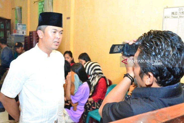 Belasan pasang remaja terjaring operasi pada malam Ramadhan