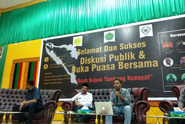 Pemerintah Aceh perjuangkan tuntutan mahasiswa terkait  tambang