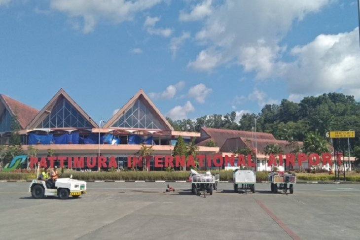 Pasca gempa, Bandara Pattimura beroperasi normal