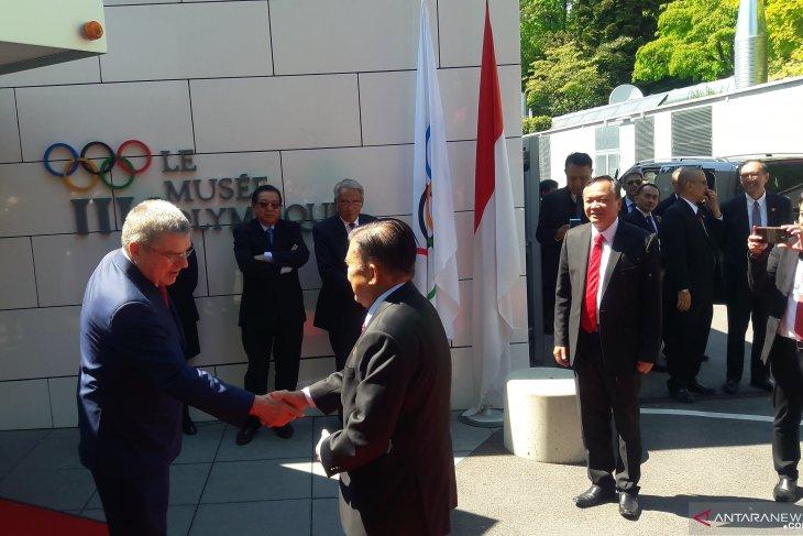 JK sampaikan kesungguhan Indonesia gelar Olimpiade 2032