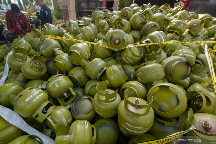 Kementerian ESDM kaji kebijakan subsidi distribusi gas 3 kg subsidi