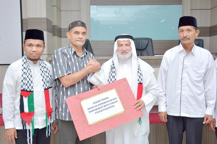 Pemko Sabang salurkan bantuan untuk Palestina