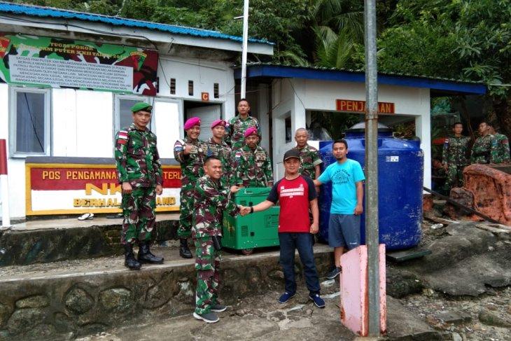Dandim 0204/DS kunjungi Pulau Berhala Di Serdang Bedagai