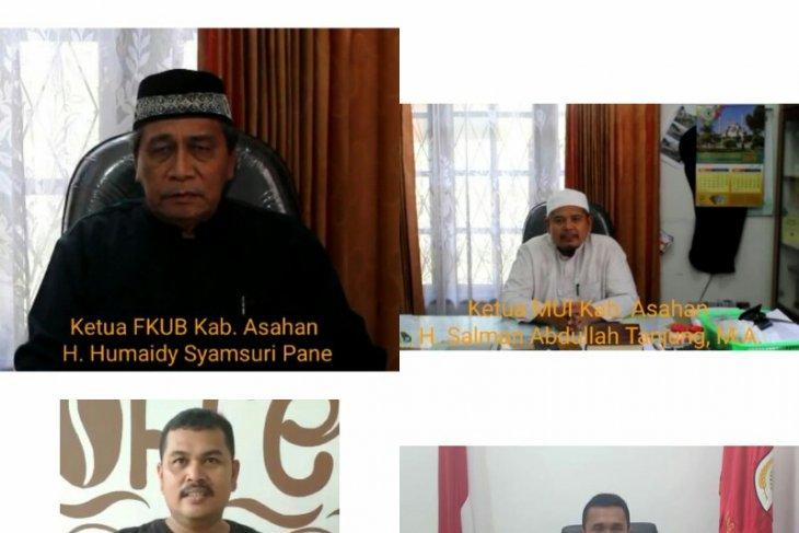 Tokoh agama  Kabupaten Asahan serukan tolak aksi People Power