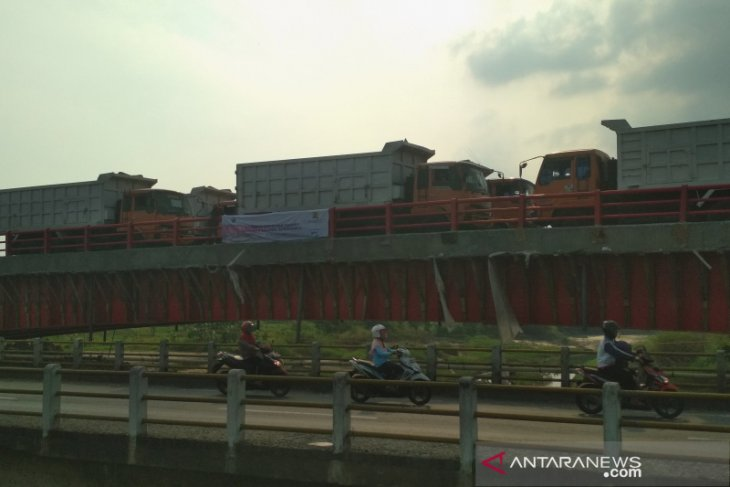 Jembatan Tanggulangin dilakukan uji beban sebelum dibuka