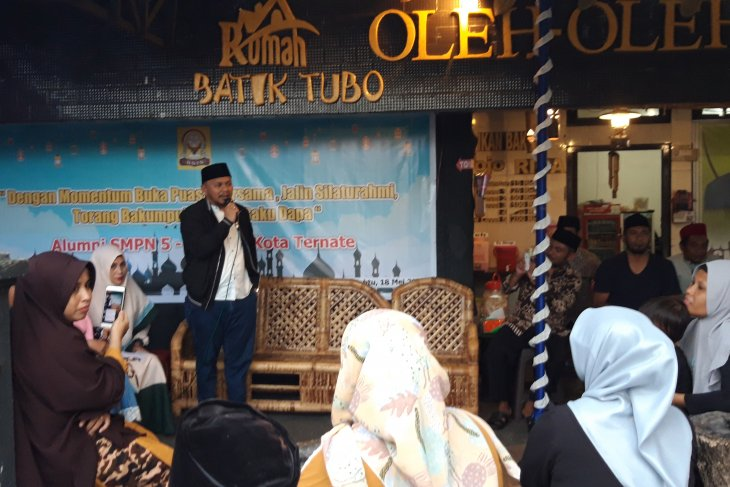 Berbagai elemen di Ternate buka puasa bersama pererat silaturahim