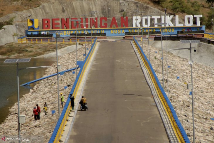 Rotiklot Dam capable of irrigating 139 hectares of paddy field