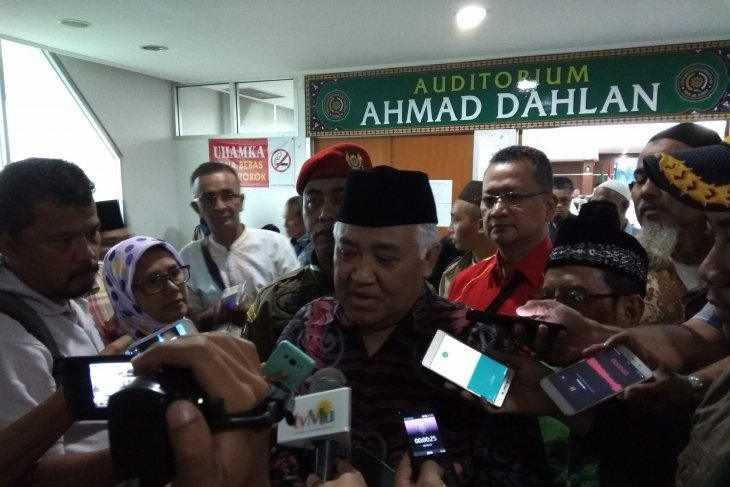 """""""People power"""" movement does not contravene Constitution: Syamsuddin"""