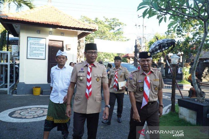 Pramuka se-Bali ikuti lomba kepramukaan di Badung