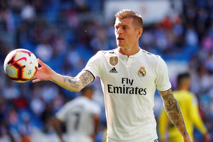 Madrid ingin tukar Toni Kroos dengan Paul Pogba