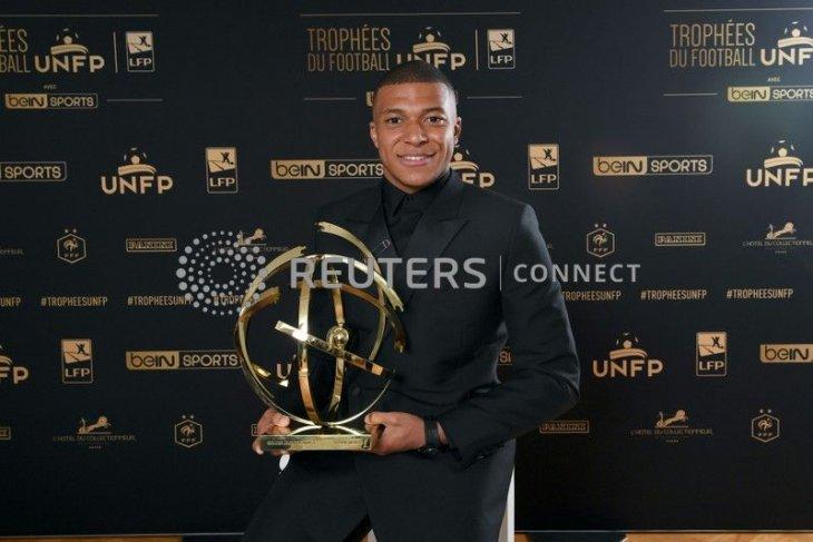 Mbappe pemain terbaik Liga Prancis 2019