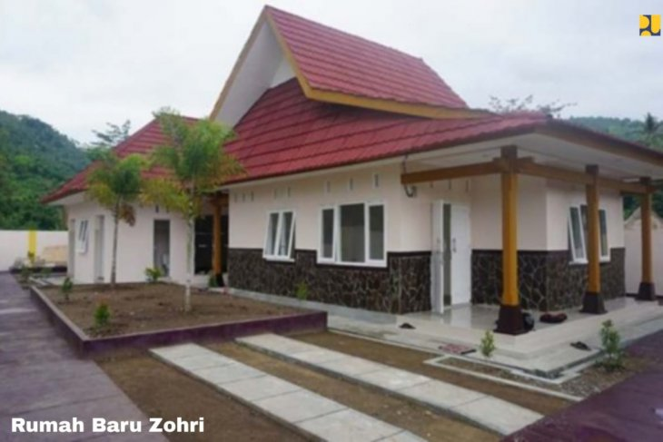 Kementerian PUPR tuntaskan pembangunan rumah untuk sprinter Zohri
