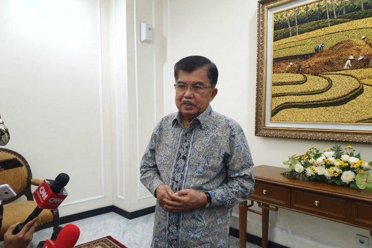 JK sarankan Prabowo telepon sampaikan selamat ke Jokowi