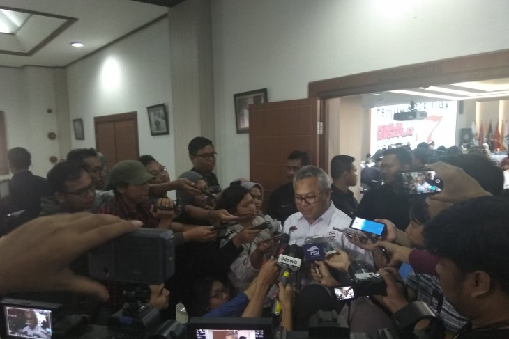 Hasil Pilpres 2019: Jokowi 55,50 persen, Prabowo 44,50 persen