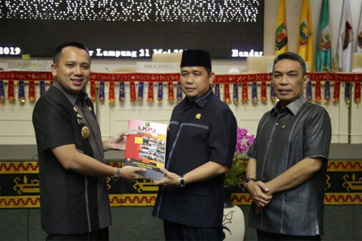 LKPJ-AMJ 2014-2019, Lampung Sarat Prestasi dan Pembangunan Infrastruktur