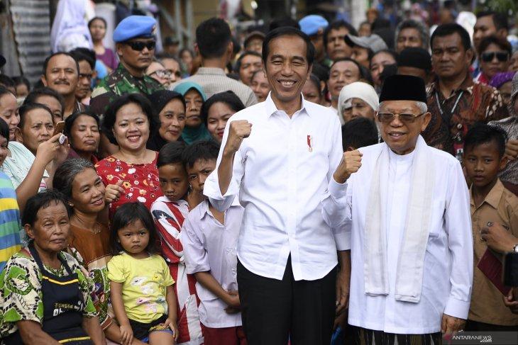 Para pemimpin dunia ucapkan selamat kepada Jokowi