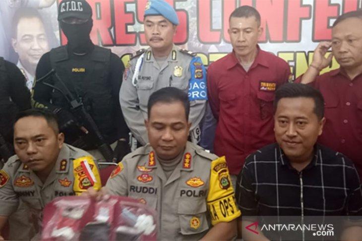 Mantan Sekjen Ormas ditangkap Resnarkoba Polresta Denpasar