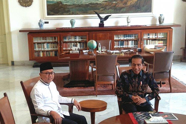 Presiden terima Ketua MPR RI di Istana Bogor