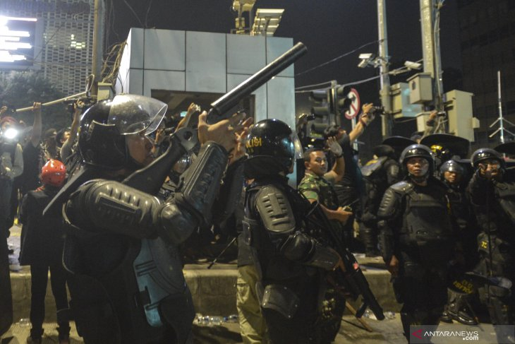 257 pelaku kerusuhan diamankan polisi terkait Aksi 22 Mei