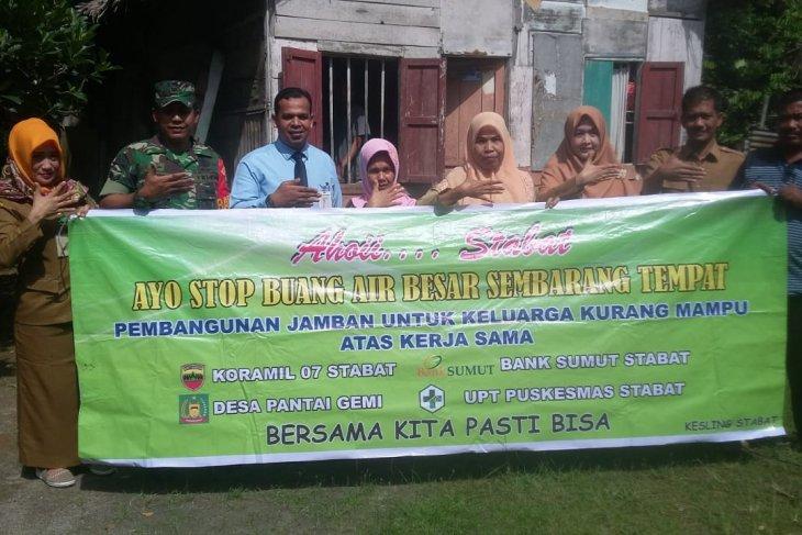 Koramil dukung program jambanisasi bagi warga Desa Pantai Gemi