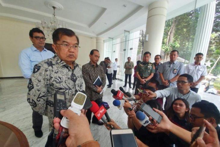 Wapres JK minta Prabowo-Sandiaga ikut tenangkan massa