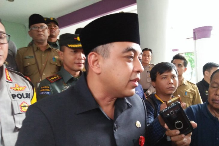 Pemkab Tangerang menjamin sembako mencukupi menghadapi Lebaran