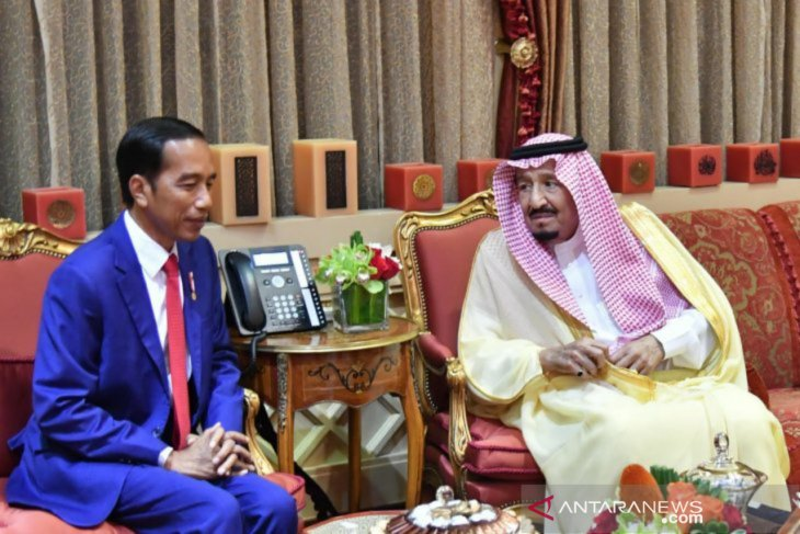 Raja Salman bin Abdulaziz sampaikan selamat kepada Jokowi