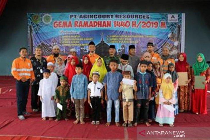 Tambang Emas Martabe bangun generasi Islam melalui gema Ramadhan 2019