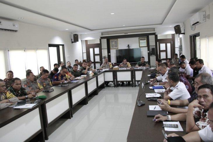 Polda Malut gelar rapat koordinasi pengamanan Idul Fitri
