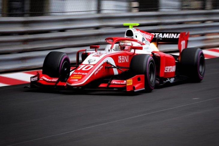 Sean Gelael start di posisi enam di Monte Carlo