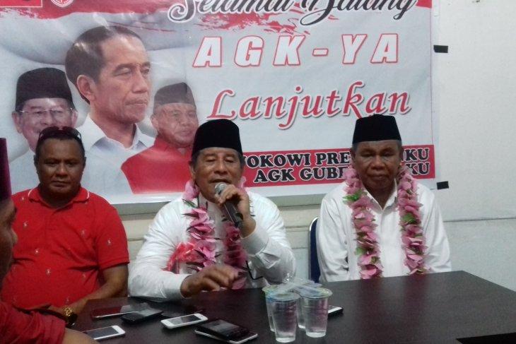 Gubernur Malut minta parpol tidak campuri penempatan SKPD