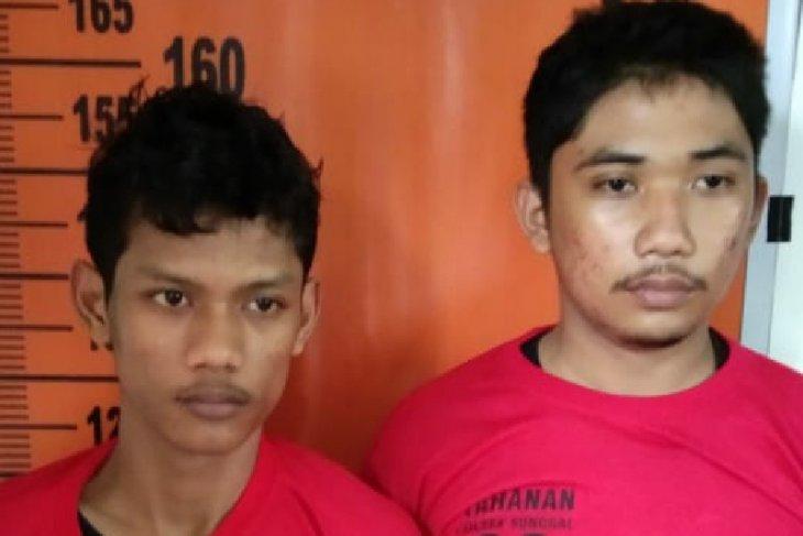 Polisi ringkus dua penjambret gawai di Medan