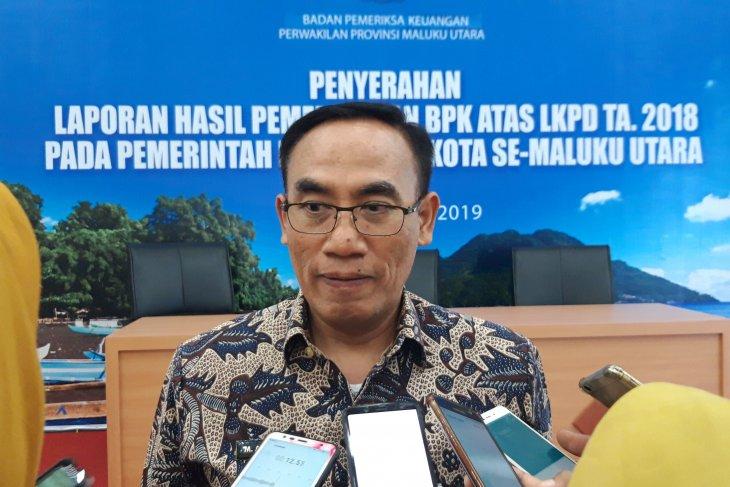 BPK serahkan LHP 10 kabupatenkota di Malut