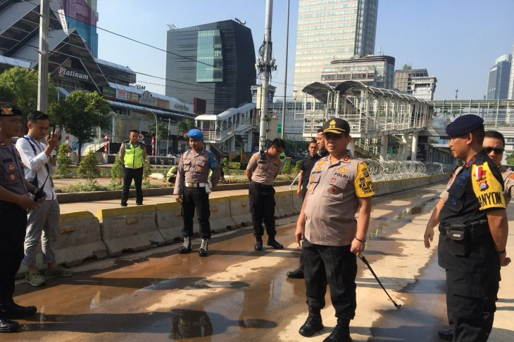 Police makes assurance of post-riot situation in Jakarta staying safe