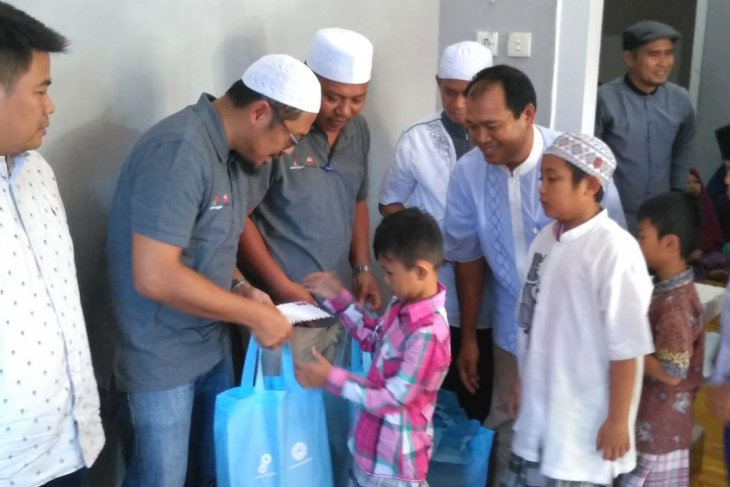 SKK Migas-PetroChina santuni anak-anak Panti Asuhan Baiturrahman