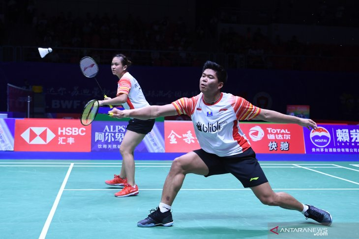Praveen/Melati bawa Indonesia ke semi-final Piala Sudirman