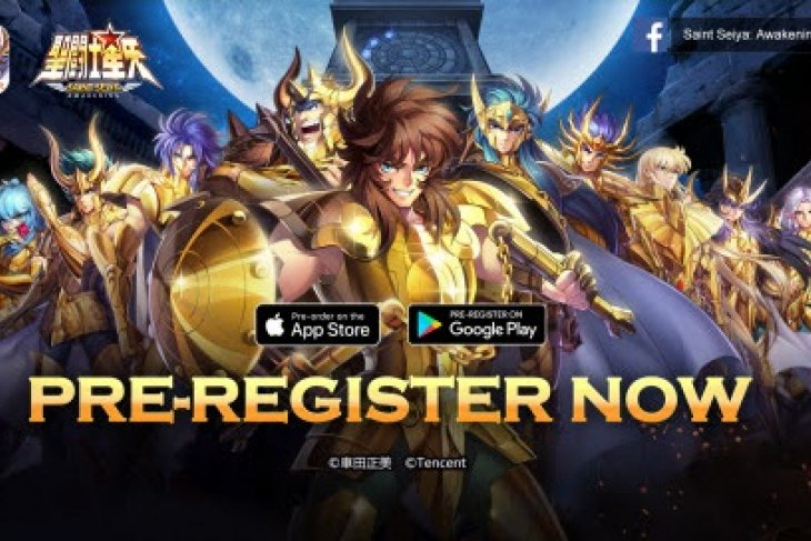 Pre-registration for mobile masterpiece Saint Seiya: Awakening begins on May 24Th