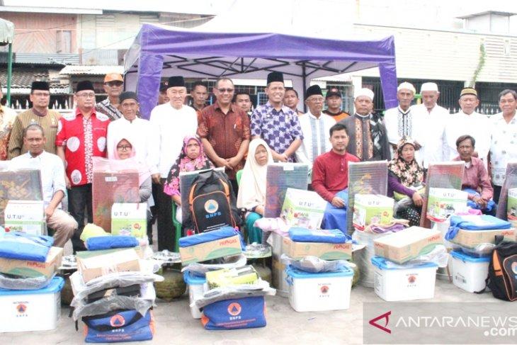 Pemkot Medan beri bantuan kepada korban kebakaran Jalan Alumunium III