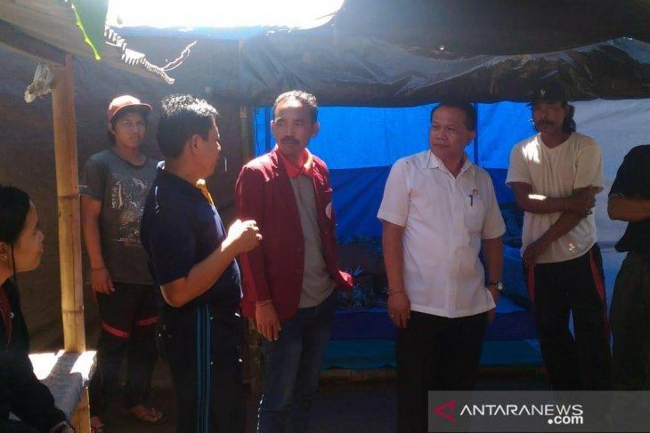 Tinggal dalam tenda, Dinsos Bali bantu warga Penaga-Bangli