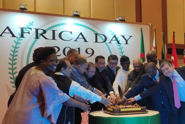 Group of African ambassador celebrates Africa Day