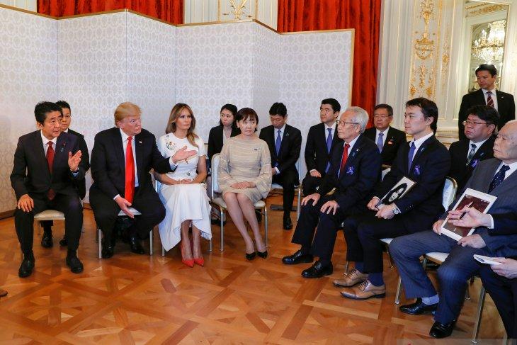Presiden AS dan Jepang membicarakan masalah Korea Utara