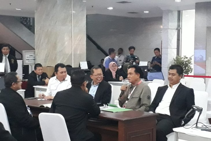 Kuasa hukum Jokowi-Ma'ruf konsultasi ke MK