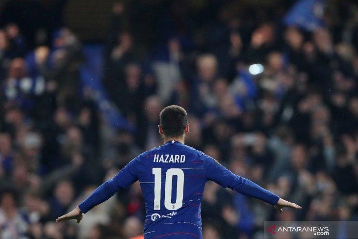 Real Madrid resmi dapatkan pemain Chelsea Eden Hazard