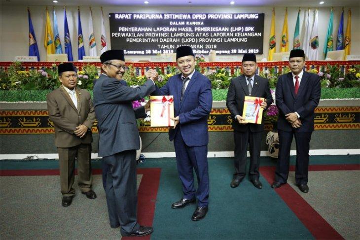 Lampung Raih Opini WTP 5 Kali Berturut-turut Di Era Gubernur Ridho