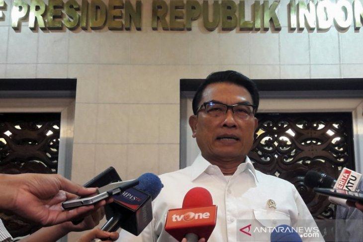 Moeldoko: Negara konsisten tegakkan hukum terkait kasus Kivlan Zen