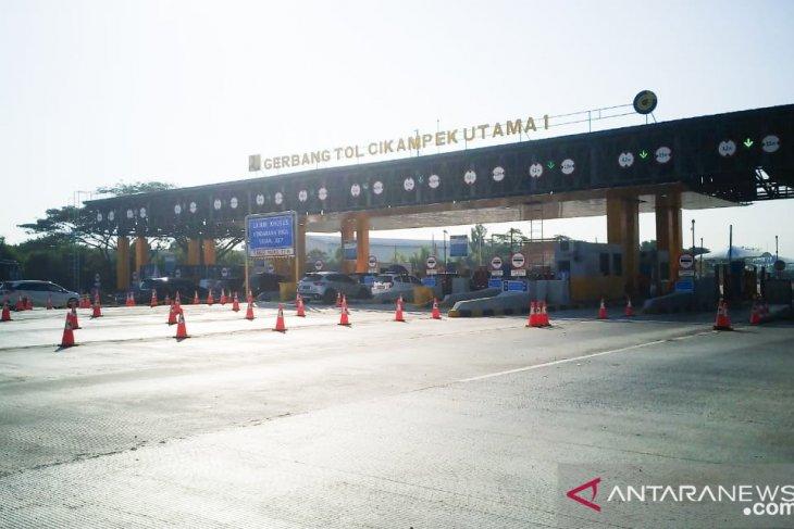 Tercatat 129.309 kendaraan tinggalkan Jakarta