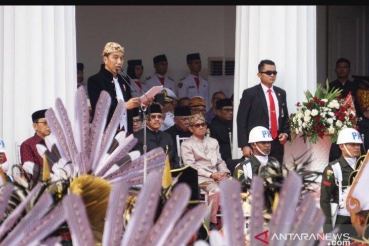 Jokowi ajak seluruh komponen bangsa teguhkan nilai Pancasila