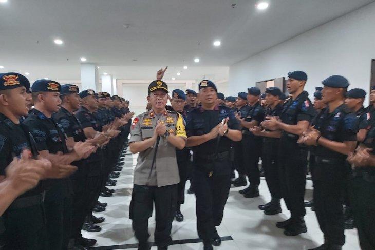 Kapolda Malut tatap muka dengan personel Brimob