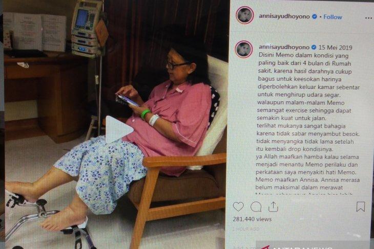 Annisa Pohan mengenang kondisi Ani Yudhoyono yang sempat membaik